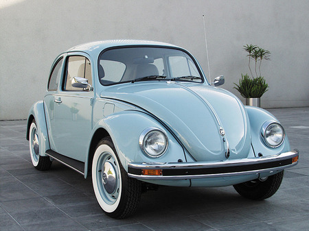 """Beetle"", ""Last Generation"". Front view. 