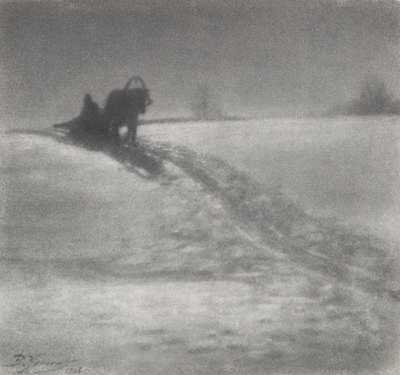 Vasili Ulitin «Winter», 1928. From the collection of the «Moscow House of photography»