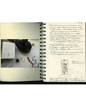 The spontaneous photo: the diary and self-portrait. Igor Mukhin's workshop