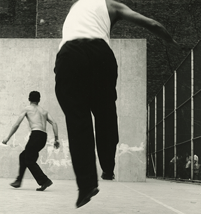 Handball Players, Houston Street, New York, 1955