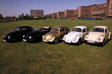 "Family of ""Beetle"" from 1938 till 1975. 