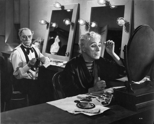 Charles Chaplin and Buster Keaton, Limelight (1952).