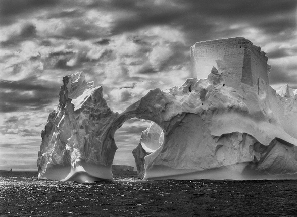 Iceberg between Paulet Island and the South Shetland Islands on the Weddell Sea. 