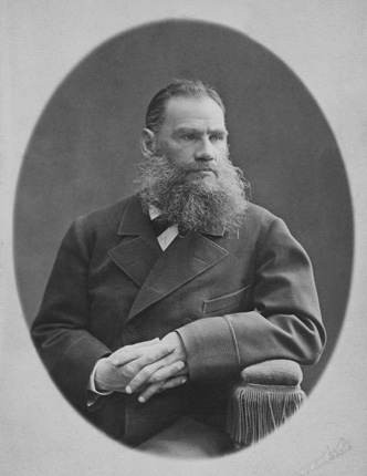 Leo Tolstoy. 1876.