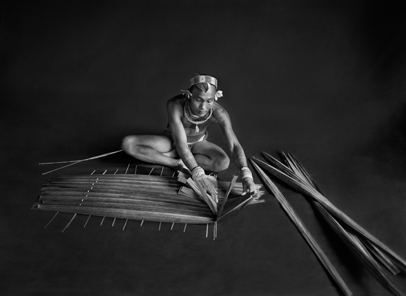 Teureum, sikeirei and leader of the Mentawai clan. 