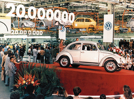 "Manufacturing of 20th-millions ""Beetle"". 
