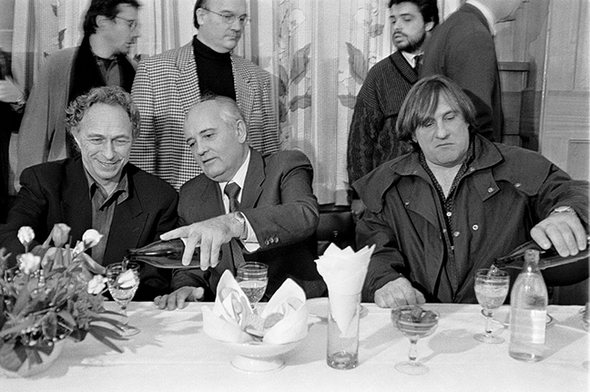 Eddie Opp / Kommersant. Ex-President of the USSR Mikhail Gorbachev (in