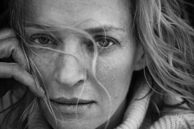 Uma Thurman Robin Wright by Peter Lindberg for Pirelli Calendar 2017