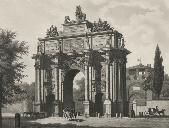 Triumphal Arch of the Lorraine.