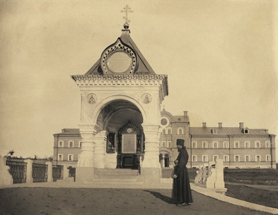 Chapel of the Holy Sign on the island of Valaam, built in memory of a visit by His Imperial Majesty the Tsar in 1858.