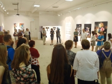Opening at Perm Art-residence