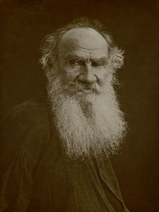 Leo Tolstoy. Yasnaya Polyana homestead. 1906.