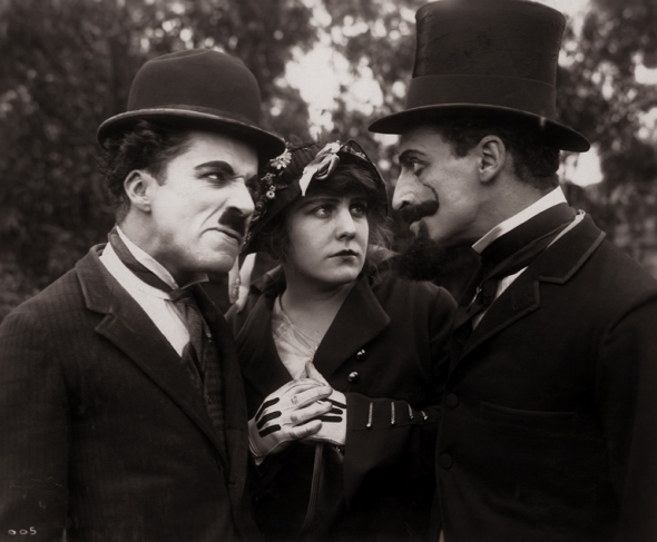 Charles Chaplin, A Jitney Elopement (1915).