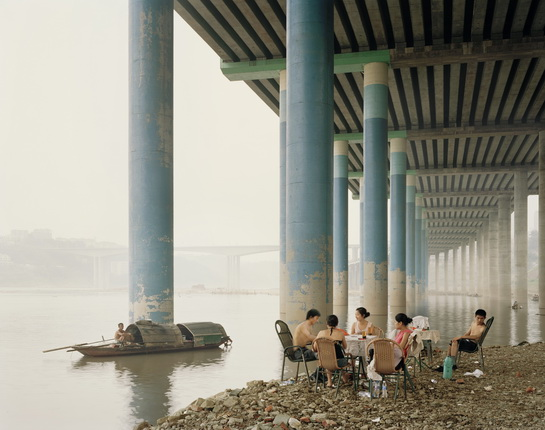 Nadav Kander. Chongqing Municipality. 2006. From the series: Yangtze, The Long River, 2006-07. © Prix Pictet Earth