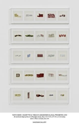 Taryn Simon.