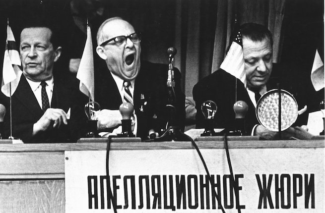 """Who are the judges?"" Moscow, 1960"