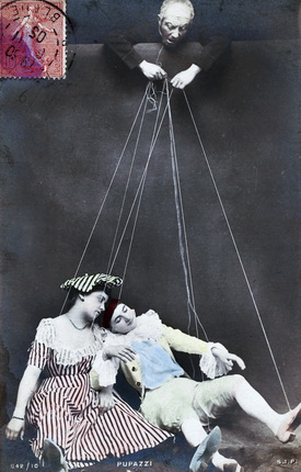 Puppets.