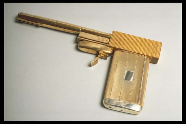 Scaramanga's Golden Gun.