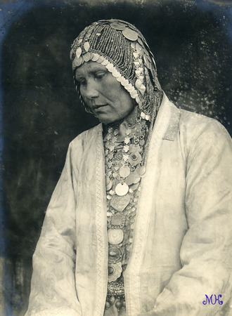 Bashkir woman.