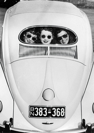 """Beetle"" with oval window. 