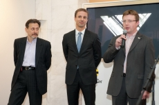 Peter Barishnikov (Prolab Production), Florian Huettl (Renault) and Sergey Kozhevnikov (Panasonic)
