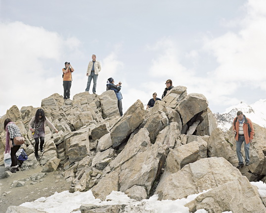 Matthieu Gafsou. Gornergrat. From the Alpes series. 2008 - 2012. Courtesy Galerie C, Neuchâtel
