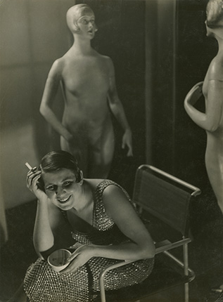 József PÉCSI. Fashion. 1936. Gelatin silver print. Hungarian Museum of Photography
