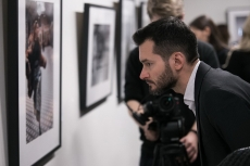 Vernissage in Saint Petersburg. Photo by Danil Yaroshuk