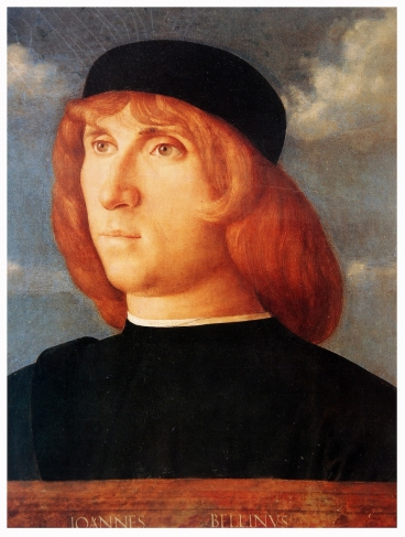 Giovanni Bellini. Portrait of a young man.