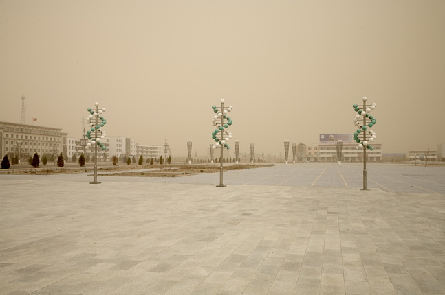 Benoit Aquin. Hongsibao n° 1. 2007. From the Series: The Chinese Dust Bowl, 2006-07. © Prix Pictet Water