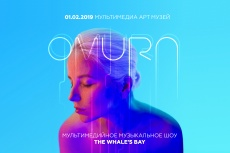 Мультимедийное шоу группы Omura «The Whale's Bay»